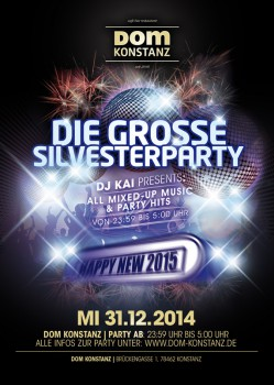 Silvesterparty DOM