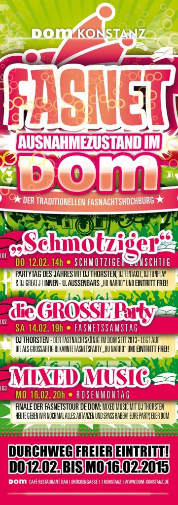 DOM Fasnetsfahrplan 2015