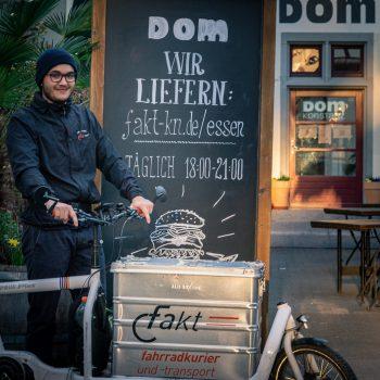 Fahrradkurier Konstanz am Dom