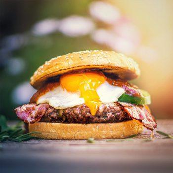 Sensation Egg Burger