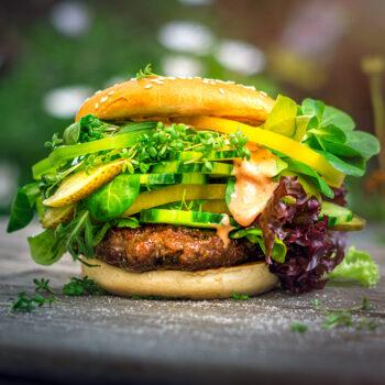 Green Garden Dom Burger